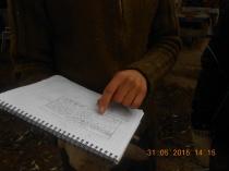 Uno de los diseños del sistema agroforestal